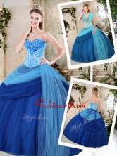 2016 Beautiful Sweetheart Beading Quinceanera Gowns for Fall QDDTF1002FOR