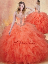 2016 Simple Straps Sweet 16 Dresses with Ruffles and Appliques SJQDDT423002FOR