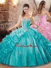 Beautiful Really Puffy Quinceanera Dress with Beading and Pick Ups XFQD1039FOR