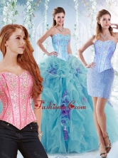 Modern Visible Boning Big Puffy Detachable Quinceanera Dresses in Aquamarine SJQDDT531002AFOR