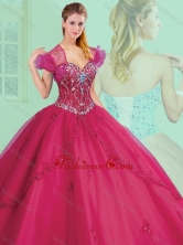 Simple Sweetheart Beading and Appliques Quinceanera Gowns SJQDDT382002FOR