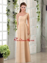 2015 Empire Chiffon Dama Dresses with Ruching BMT024AFOR