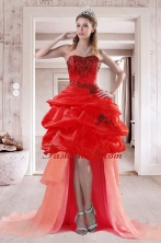 2015 Pretty Sweetheart Dama Dresses with Embroidery and Ruffles  XFNAO508TZBFOR