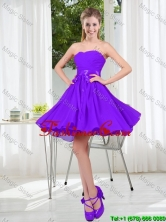 2016 Fall A Line Sweetheart Prom Dress in Purple BMT001B-4FOR