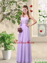 Comfortable Hand Made Flowers Dama Dresses with Lace BMT046CFOR