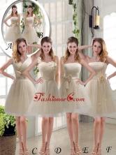 Elegant Princess Mini Length Lace Dama Dress with Bowknot BMT003FOR