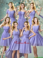 Fashionable Hand Made Flowers Dama Dresses with A Line BMT056FOR