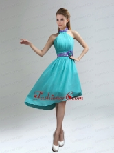 New Fashion High Neck Asymmetrical Multi-color Dama Dress BMT006BFOR