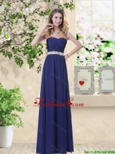 Pretty Ruched and Sequined Dama Dresses with Sweetheart BMT059EFOR