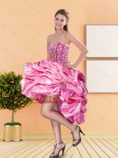 Pretty Sweetheart Beading and Pick Ups Dama Dresses for 2015 Spring QDDTA10003-1FOR
