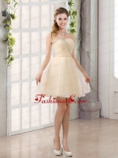 2015 Sturning Sweetheart A Line  Prom Dress with Beading BMT019BFOR