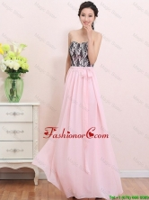 2016 Elegant Empire Sweetheart Laced Prom Dresses with Belt DBEE021FOR