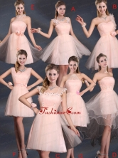 Baby Pink Mini Length 2015 The Most Popular Prom Dresses BMT022FOR