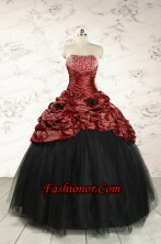 2015 Exclusive Ball Gown Multi-color Leopard Quinceanera Dress  FNAO213FOR