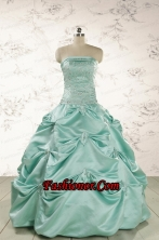 Cheap Turquoise Quinceanera Dresses with Appliques FNAO5934FOR