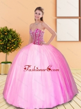 Exclusive Beading Sweetheart Quinceanera Gown for 2015 Spring QDDTA11002-1FOR