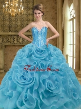 Fashionable Beading and Rolling Flowers Baby Blue 2015 Quinceanera Gown SJQDDT19002-2FOR