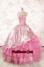 Pretty Sweetheart Quinceanera Dresses for 2015  FNAO417FOR