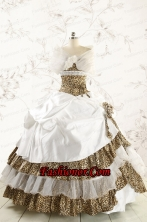 2015 Most Popular Quinceanera Dresses with Strapless FNAO437CFOR