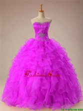 2016 Fall Elegant Sweetheart Quinceanera Dresses with Beading SWQD009-8FOR