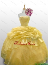 2016 Summer Perfect Ball Gown Quinceanera Dresses with Appliques Layers SWQD010-2FOR