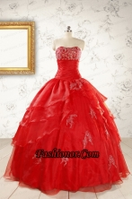 Most Popular Strapless Quinceanera Dresses for 2015 FNAO669FOR