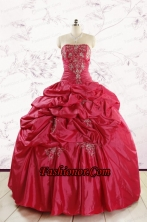 New Style Strapless Appliques Quinceanera Dresses FNAO189FOR