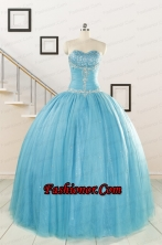 New Style Sweetheart Ball Gown Quinceanera Dresses FNAO0615FOR