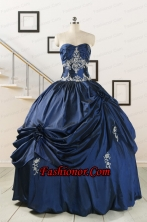 Trendy Sweetheart Quinceanera Gowns with Appliques  FNAO587FOR