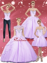 Beading Sweetheart 15 Quinceanera Dresses for 2015 SJQDDT4001FOR