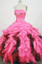 Discount Ball gown Strapless Floor-Length Quinceanera Dresses Style FA-Y-37