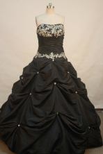 Discount Ball gown Strapless Floor-length Quinceanera Dresses Style FA-W-234