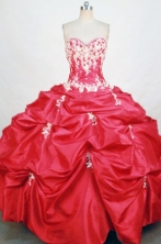 Elegant Ball gown Sweetheart neck Floor-Length Quinceanera Dresses Style FA-Y-54