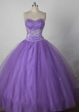 Exquisite Ball gown Strapless Floor-Length Quinceanera Dresses Style FA-Y-07