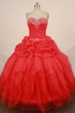 Fashionable Ball Gown Sweetheart Floor-length Quinceanera Dresses Style LZ42440