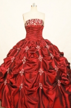 Fashionable Ball gown Strapless Floor-Length Quinceanera Dresses Style FA-Y-69