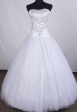 Formal Ball gown Strapless Floor-length Quinceanera Dresses Style FA-C-083