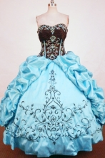 Formal Ball gown Sweetheart neck Floor-Length Quinceanera Dresses Style FA-Y-32