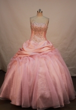 Gorgeous Ball gown Strapless Floor-length Quinceanera Dresses Style FA-W-251