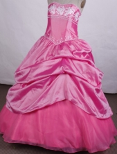Perfect Ball gown Sweetheart-neck Floor-length Quinceanera Dresses Style FA-C-036