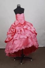 Popular Ball Gown Sweetheart Floor-length Quinceanera Dress Y042646