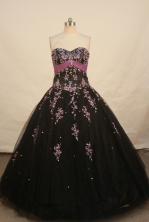 Popular Ball gown Sweetheart Floor-length Quinceanera Dresses Style FA-W-273
