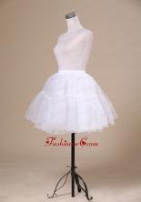 2013 New Arrival White Mini Length Petticoat ACP004FOR