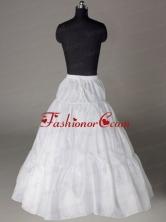 A line Taffeta Floor Length Wedding Petticoat ACCPET09FOR