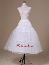 A lineTulle Floor Length Low Price Wedding Petticoat ACP015FOR