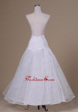 Beautiful A Line Floor Length Tulle and Organza Wedding Petticoat ACP028FOR