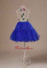 Custom Made 2013 Peacock Blue Petticoat ACP005FOR