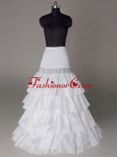 Four Layers Hot Selling Taffeta Floor Length Wedding Petticoat ACCPET08FOR