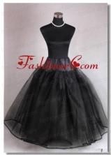 High End Organza Ball Gown Floor Length Black Petticoat ACCPTI001FOR