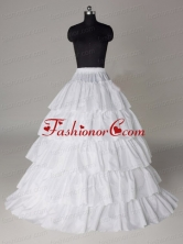 Hot Selling Taffeta Five Layers Floor Length Wedding Petticoat ACCPET14FOR